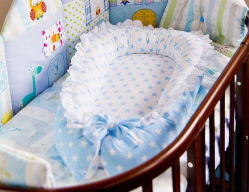 Гнездышко для новорожденного, сшитое своими руками