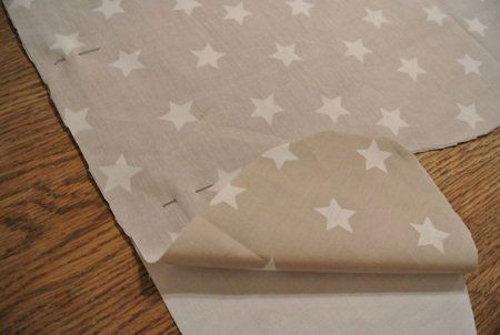 Скалывание ткани булавками