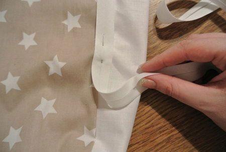 Пришивание ленты