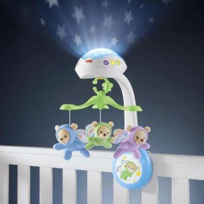 Мобиль с ночной подсветкой
