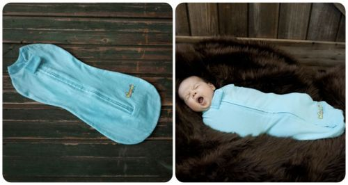 Пеленка-кокон для младенца