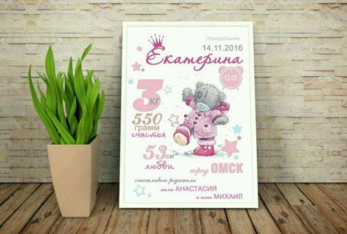 Постер для девочки