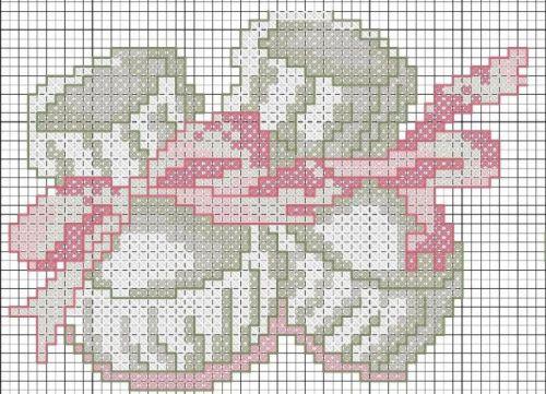 Схема вышивки для метрики