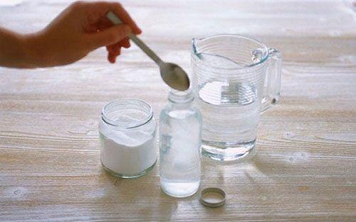Пригототовление содового раствора