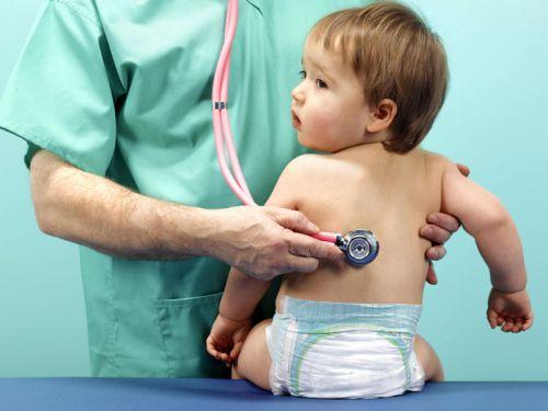 Заболевший ребенок у врача