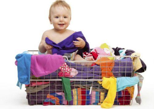 Малыш и его одежда