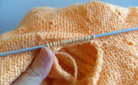 Вязание ластовицы