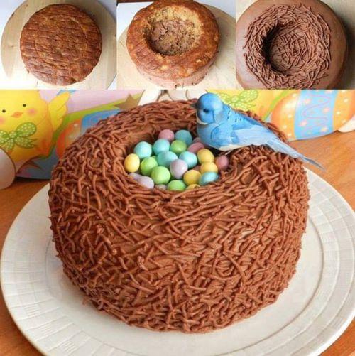 Выпекание торта