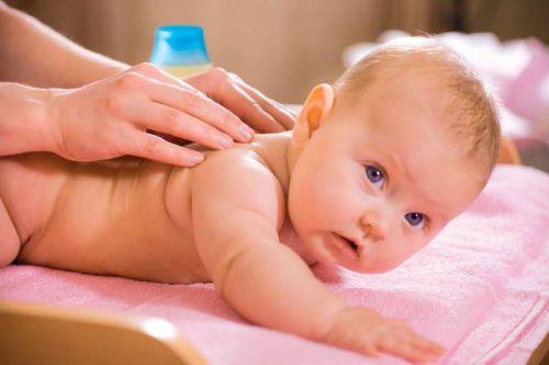 Массаж младенца