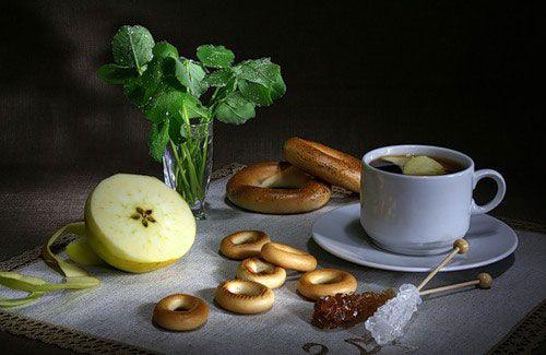 Чай с сушками