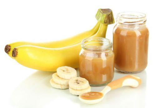 Пюре из банана