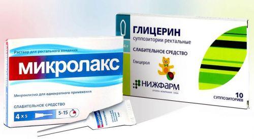 Препараты при запорах