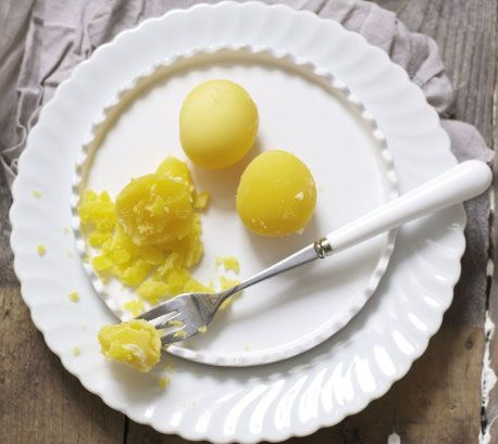 Вареный яичный желток