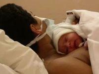 Новорожденный с мамой