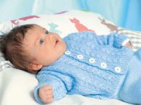 Кофточка для новорожденного