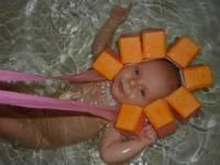 Чепчик для купания ребенка в ванне