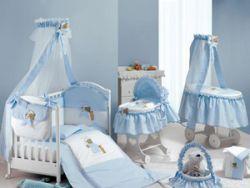 Детские кроватки с балдахинами