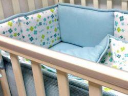 Бамперы для кроватки младенца