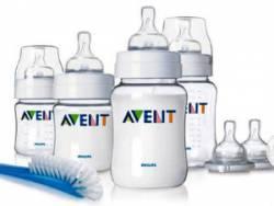 Набор бутылочек для кормления Авент