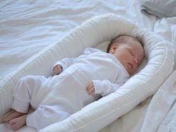 Новорожденный в гнездышке