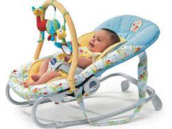 Младенец в кресле-качалке