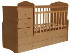 Детская кроватка-ирансформер