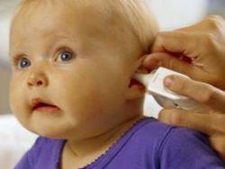 Закапывание в ухо ребенку