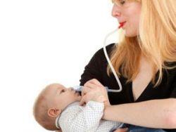 Отсасывание соплей у ребенка