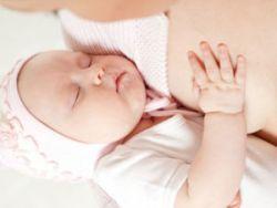 Младенец с мамой