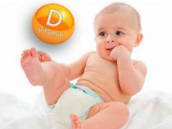 Витамин Д для младенца